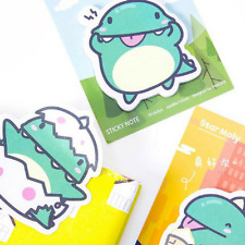 Naughty Dragon Star Moly Sticky Notes, Japanese Cartoon Cute Memo Notes Post It