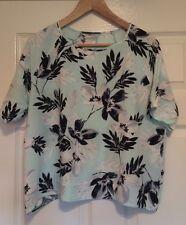 Floral Blouse Top, Size 16