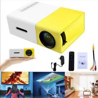 YG300 1080P Home Theater Cinema USB HD AV SD Mini Portable HD LED Projector