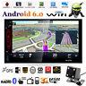 7'' Doppia 2 Din Auto Audio Video Radio MP3 MP5 Player Android WiFi BT GPS Nav