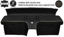 BEIGE STITCH REAR STORAGE PANEL LEATHER&SUEDE COVER FOR HONDA CRX DEL SOL 92-97