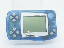Vintage Video Game Bandai Wonderswan Handheld Console Soda Blue Japanese Import*