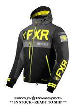FXR Men's Helium X Jacket Removable Insulated Waterproof Snowmobile Winter Coat