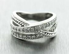 0.62ctw Diamond 14k White Gold Ring