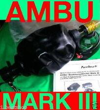 MARK III 3 AMBU BEUTEL BEATMUNGSBEUTEL PATIENTENVENTIL MASKE RESUSCITATOR BAG MI