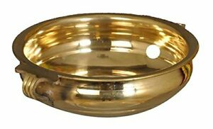 Brass Urli Bowl Hindu Traditional Uruli Vessel Flower Pot Home Art Decor Gift