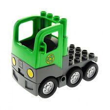 Baukästen & Konstruktion 1x Lego Duplo Auto orange neu-dunkel grau Werkstatt Werkzeug Pickup 47438c01pb02