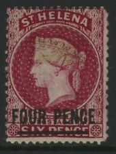 ST. HELENA, MINT, #28, OG LH, GREAT COLOR, NICE CENTERING