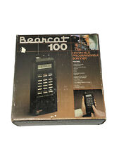 Bearcat BC100 VHF/UHF Scanner Complete Box Manuals Cover Original Packaging 📻