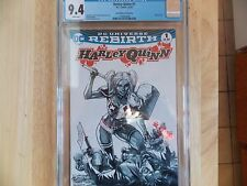 HARLEY QUINN #1 - CGC 9.4 - COMIC SKETCH MINT EDITION - DC  UNIVERSE REBIRTH