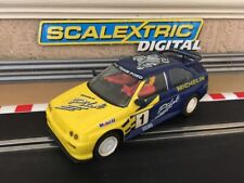 Scalextric Digital Ford Escort Cosworth piloto No1 C370 Excelente Estado