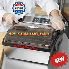 Commercial Chamber Vacuum Sealer Food Saver Packaging Machine Home Restaurant