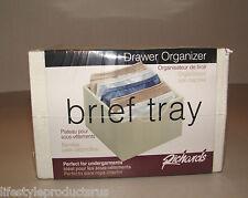 NEW RICHARDS BRIEF TRAY DRAWER ORGANIZER UNDERGARMENT PANTY 6 x 6 x 4 22023