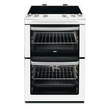 Zanussi ZCI660EWC 60cm Electric Induction Cooker Double oven White HA2105