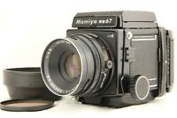 【NEAR MINT】 MAMIYA RB67 Pro S + SEKOR NB 127mm f/3.8 + 120 Film Back from JAPAN