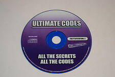 Ultimate Codes True Crime Street of LA  Video Game Cheat Codes Playstation 2