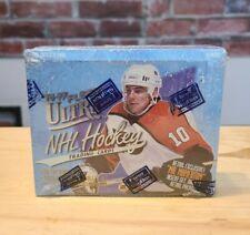 1996/97 Caixa de hóquei Fleer Ultra (18 pacotes) INSERÇÕES RARAS Gretzky?