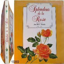 Splendeur de la Rose 1989 illustrations Anne-Marie Trechslin comme Redouté flore