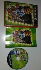 BUZZ! EL CONCURSO DE DEPORTES  PLAYSTATION 2 - PS2 - BUEN ESTADO