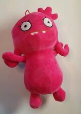 "Uglydolls Pink 10"" with Hanging Loop Plush Cuddly Sewn Eyes"