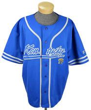 Starter Mens Vintage University Kentucky Wildcats Jersey Sz 2XL Blue Embroidered