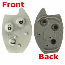 Replacement 3 Buttons Flip Remote Key Rubber Button Pad For Citroen Xsara C5