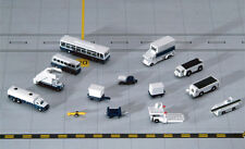 Gemini Jets 14 Piece Airport Service Support Vehicles GSE Scale 1:400 GJARPTSETA