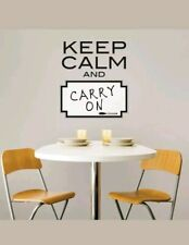 KEEP CALM AND... DRY ERASE WALL POPS! PEEL, STICK+MOVE! FREE SHIPPING!