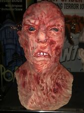 Freddy Kruger Halloween Mask Latex Nightmare On Elm Street Horror Robert Englund
