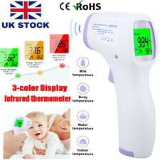 Digital Non-Contact Handheld Thermometer Infrared Forehead Laser Temperature Gun
