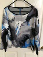 Penny Black Oversized Jersey Multicolour top, Sz XL, BNWT, RRP $380