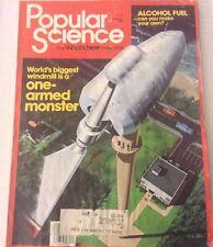 Popular Science Magazine Alcohol Fuel Windmill  January 1981 073117nonrh