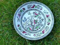 Vintage British Ridgway Tableware  Soup Pasta Bowl Indian Tree VGC