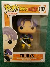 Funko POP Anime: Dragonball Z - Trunks Action Figure #107