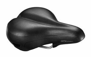 Giant Connect City Saddle. Large Unisex Comfort Padded Bike Seat Mens or Womens