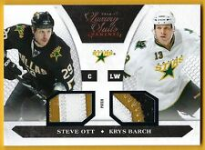 Steve Ott/Krys Barch - 2010-11 Luxury Suite Prime Patches #'d 16/20 - Card #82