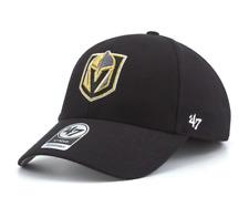 Vegas Golden Knights '47 NHL MVP Structured Adjustable Black Hat Cap Hockey OSFM