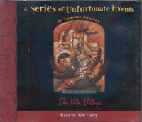 Series Of Unfortunate Events The Vile Village Lemony Snicket 4CD Audio Book 7