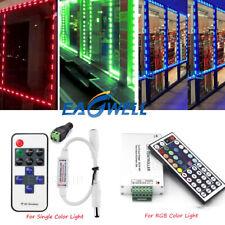 20~160PCS 5050 SMD 3 LED Module Light Fairy Strip Waterproof  +Remote Controller
