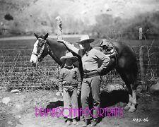 JACK HOLT & TIM HOLT 8X10 Photo RARE Handsome Father & Son Cowboys 1920s