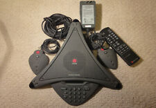 Complete PolyCom SoundStation Premier with all accessories