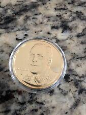 CAL RIPKEN JR 24KT GOLD PLATED COIN LIMITED EDITION 1300/2500 HIGHLAND  MINT