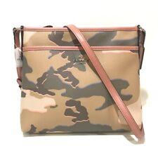 UNUSED COACH Camouflage Shoulder Bag Khaki/Multicolore F35440