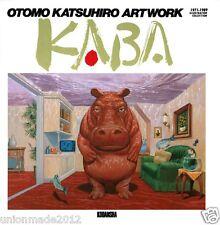 "OTOMO KATSUHIRO Art Illustrations Book Vol.1 ArtWorks ""KABA"" 1971-1989 NEW Akira"