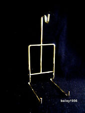 Cup & Saucer Stand Brass SMOOTH WIRE Easel Fits Standard Size TRIPAR 23-2452