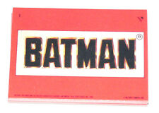 1989 Topps BATMAN MOVIE series 1 - 22 sticker set. Stickers only