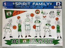 Boston Celtics Spirit Family Decals NEW NBA car/truck window - Set of 17