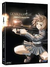 Gunslinger Girl . Complete Collection . Season 1 + 2 + OVA . Anime . 5 DVD . NEU
