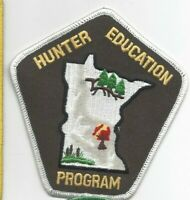 Minnesota Hunter Education Program Law Enforcement Cloth Shoulder Patch  NM+