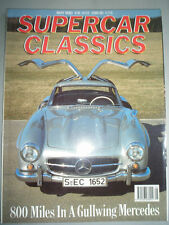 Supercar Classics May 1990 Mercedes 300SL Gullwing, Austin Healey 100S & 100M